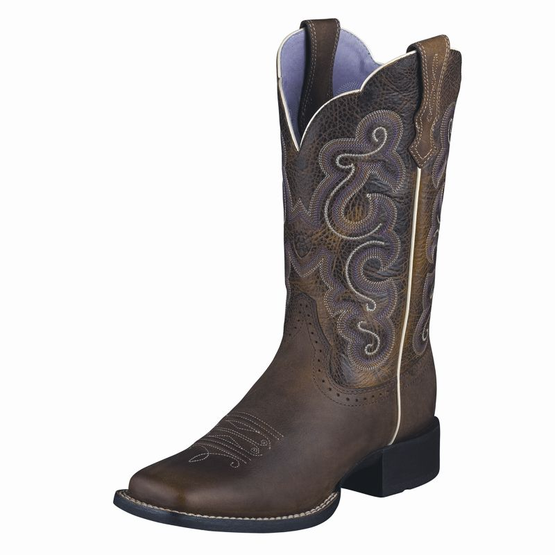 Ariat Ladies Quickdraw Brown/Wicker