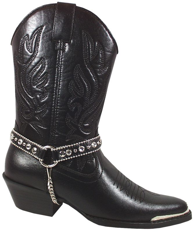 Smoky Mountain Ladies Charlotte Boots Black