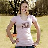 Rather be Dumped Juniors V Neck Tee