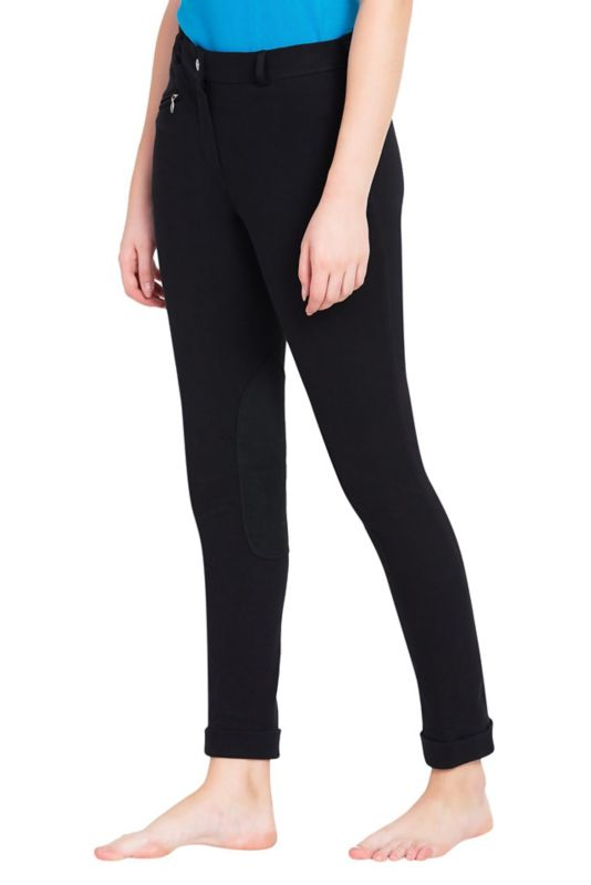 TuffRider Ladies Cotton Jodhpurs Black
