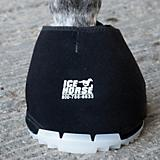 Ice Horse Big Black Hoof Boot