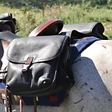 Cashel Leather Large Saddlebag