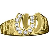 Kelly Herd 14K Gold Double Horseshoe Ring