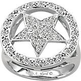 Kelly Herd 14K White Gold Dazzling Star Ring