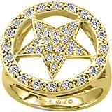 Kelly Herd 14K Gold Dazzling Star Ring