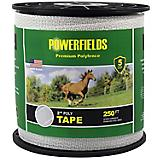 Powerfields 2 Inch Polytape White 500 Ft Roll