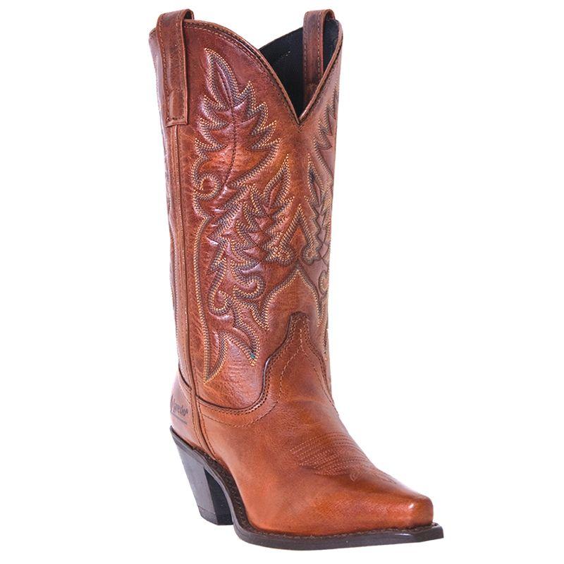 Laredo Ladies Madison Western Boots Red
