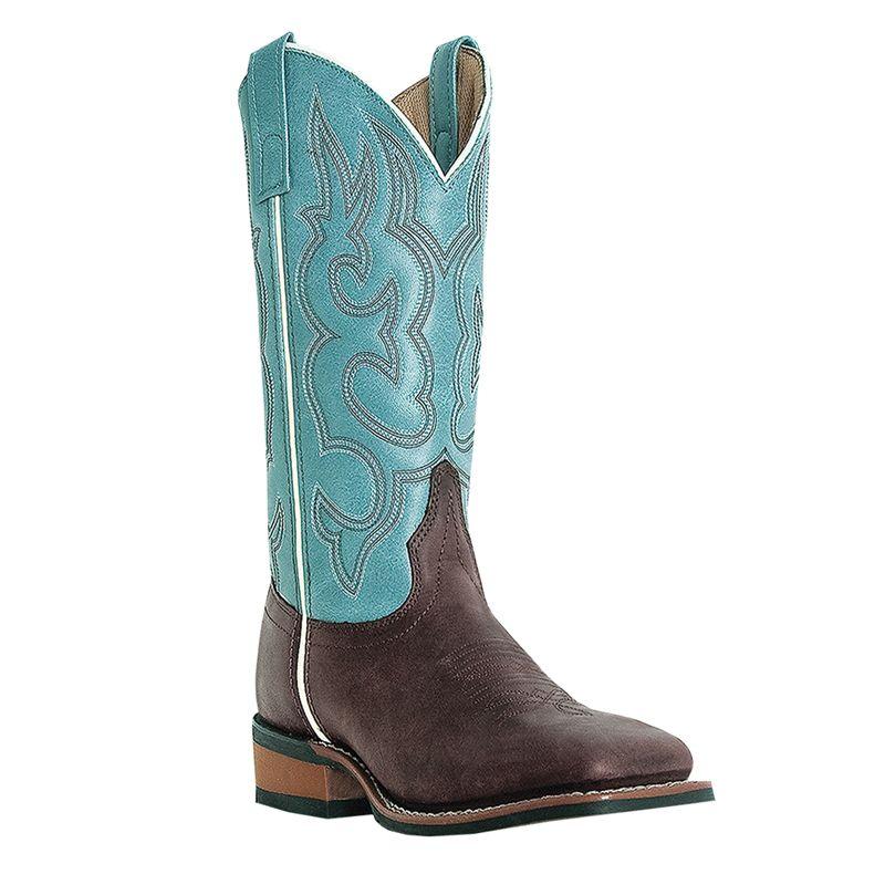 Laredo Ladies Mesquite Western Boots Blue