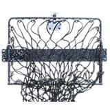 Hay Hoops Wall Hay Feeder with Net