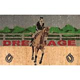 Door Mat Dressage Horse