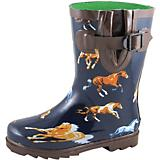 Smoky Mountain Childs Wild Horses Navy Boots