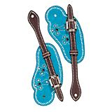 Weaver Memphis Collection Cowboy Spur Straps