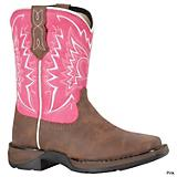 Durango Kids Let Love Fly Sq Toe 8in Boot