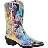 Durango Kids Shimmer Rainbow Pointed Boots