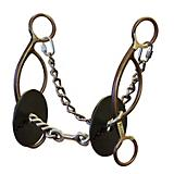 Martha Josey Dog Bone Gag Short Shank 5in Bit