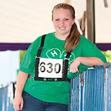 4-H Exhibitor Show Number Harness