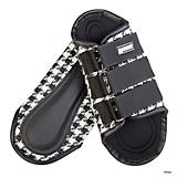 Roma Houndstooth Splint Boots