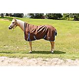 Saxon 1200D High Neck Turnout Sheet Chestnut
