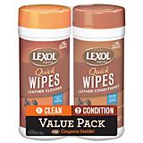 Lexol Quick Wipes Value Twin Pack