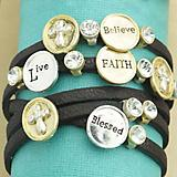 Horizontal Cross Multi Bracelet