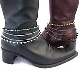 Boot Charms Beaded Strands