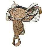 Tex Tan Floral Tool Show Saddle