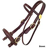 Tucker Plantation Headstall w/Brass