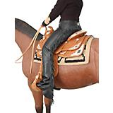 Tough-1 Smooth Leather Show Chaps