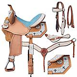 Silver Royal Desert Hope Saddle Package