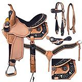 Silver Royal Desert Faith Saddle Package