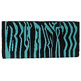Tough-1 Acrylic Zebra Saddle Pad