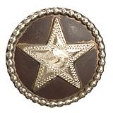 Drawer Pull Star with Decorative Rope Edge