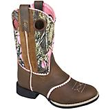 Smoky Mtn Kids Ruby Belle Rnd Pink Camo Boots