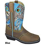 Smoky Mtn Ladies Cypress Camo Sq Toe Boots