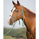 Mustang Silverado Rope Halter w/Lead