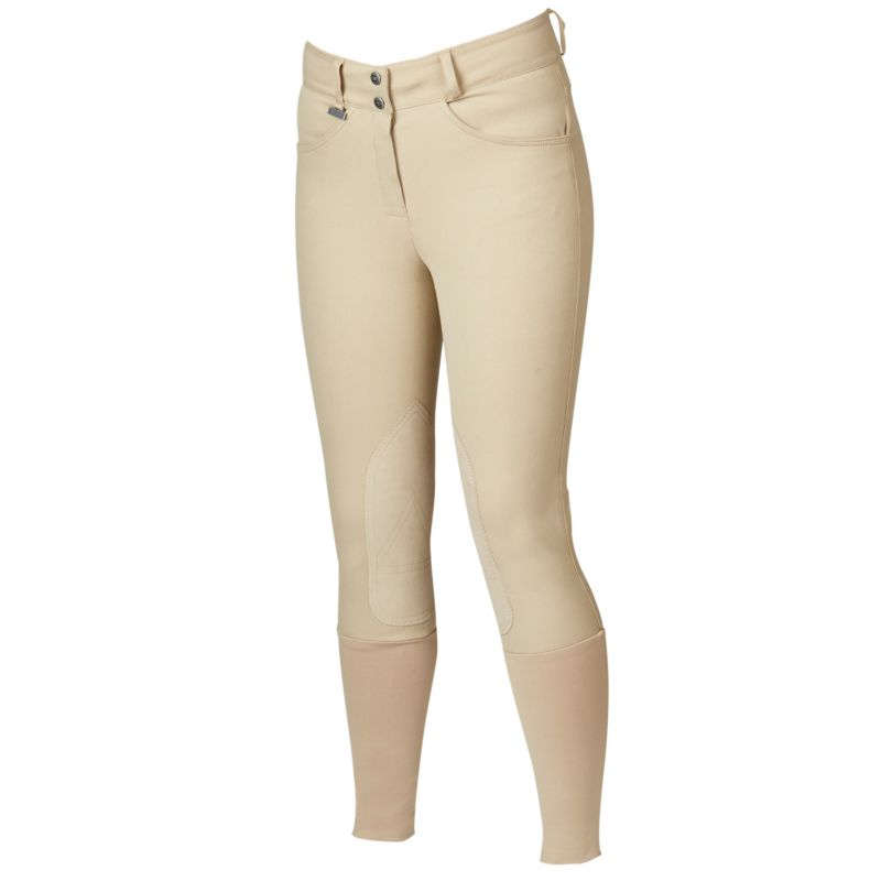 Dublin Active Slender Euro Seat Breeches White