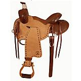 Big Horn Half-Breed Grainout Ranch Roper Saddle