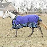 Tough 1 1200D Paisley Shimmer Turnout Sheet
