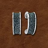 Kelly Herd Silver Sparkle Earrings