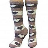 Cozzie Soft Heart Socks