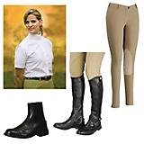 English Apparel and Footwear 4 Piece Ladies Bundle