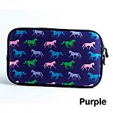 Tek Trek Horse Print Zipper Bag
