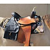 Saddle Guard Leather Saddle Bags