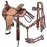 Tough-1 Savannah Barrel Saddle 5 Piece Package