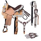 Tough-1 Arizona Barrel Saddle 5 Piece Package