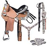 Tough-1 Greyson Barrel Saddle 5 Piece Package