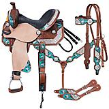Tough-1 Ashton Barrel Saddle 5 Piece Package