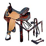 Tough-1 Jameson Barrel Saddle 5 Piece Package