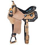 Tough-1 Cheyenne Barrel Saddle