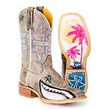 Tin Haul Ladies Man Eater Square Toe Boots